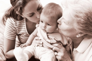 Researchers have found grandmothers living nearby offer great benefits to their children's children. Photo / Thinkstock
