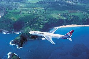 Hawaiian Airlines is offering round trip fares to Honolulu for $1075. Photo / Supplied