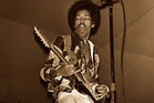Jimi Hendrix has been named the world's greatest guitarist in a new poll. Photo / Supplied