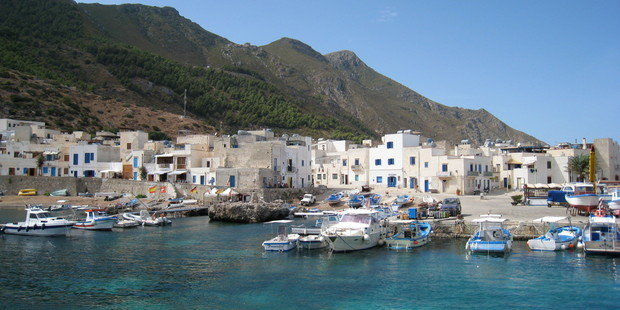 The small cubed houses of Marettimo give the island a distinctly North African feel. Photo / Creative Commons image by Flickr user furibond