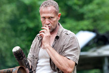 Shh: Merle is back in the third season of The Walking Dead. Photo / Gene Page/TWD Productions