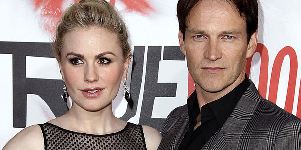 Stephen Moyer says having twins with Anna Paquin is going to be 'crazy'.  Photo / AP