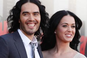 Russell Brand and Katy Perry. Photo / AP