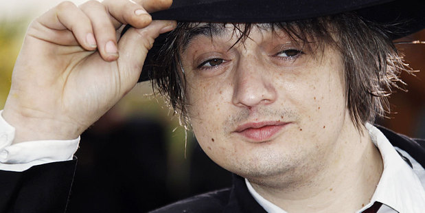 Pete Doherty has been kicked out of a rehab clinic in Chiang Mai. Photo / AP