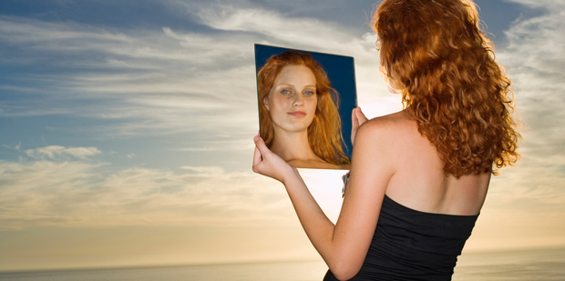 Talking to yourself can be a great tool to sweep away negativity clouding your judgement. Photo / Thinkstock