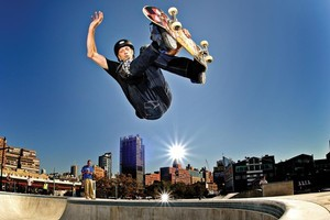 Tony Hawk. Photo / Supplied