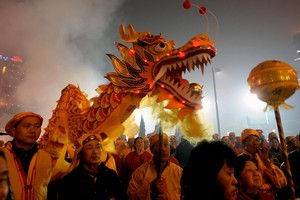 The Chinese Lantern festival will mark it's 13th year in February. Photo / Getty Images