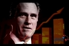 The Winning Our Future political video King of Bain: When Mitt Romney comes to Town spends 28 minutes skewering Romney as a vulture capitalist worth a quarter of a billion dollars. Photo / Supplied