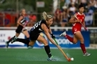 Anita Punt and the Black Sticks are keen to improve on their 6-4 loss to Korea. Photo /  Lucho Vidales