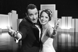 Jean Dujardin and Berenice Bejo in The Artist. Photo / Supplied