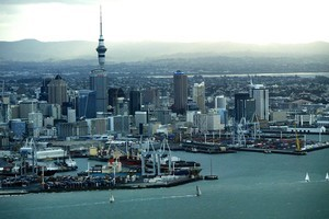 Auckland needs to lead the way in research and development, says Sir Peter Gluckman. Photo / Greg Bowker