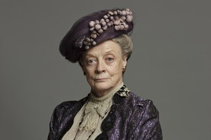 Maggie Smith in the TV Series Downton Abbey. Photo / Supplied