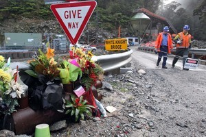 The bodies of the 29 men killed in the Pike River tragedy may remain entombed in the mine for years before they are recovered. File photo / NZPA