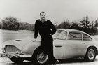 Nothing says James Bond like the Aston Martin DB5. Photo / Supplied