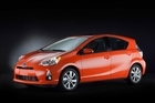 Toyota is betting the Prius C hybrid will draw budget-conscious buyers. Photo / Supplied