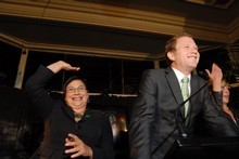 Metiria Turei and Russel Norman. Photo / Herald on Sunday 