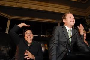 Metiria Turei and Russel Norman. Photo / Herald on Sunday