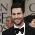 Adam Levine arrives at the 2012 Golden Globe Awards. Photo / AP