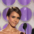 Presenters Jessica Alba, left, and Channing Tatum are seen onstage at the 2012 Golden Globe Awards. Photo / AP