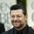 Andy Serkis, left, and his wife Lorraine Ashbourne arrive at the 2012 Golden Globe Awards. Photo / AP