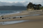 Opononi Beach on the Hokianga Harbour. Photo / APN