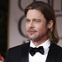 Brad Pitt arrives at the 2012 Golden Globe Awards. Photo / AP