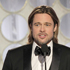 Beards added a rugged edge to the boys looking smart in their suits: Brad Pitt. Photo / AP