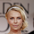 Charlize Theron arrives at the 2012 Golden Globe Awards. Photo / AP