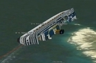 Kiwi-based company PlanetinAction.com has tracked the final moments of the Costa Concordia's doomed voyage. Photo / supplied