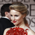 Dianna Agron arrives at the 2012 Golden Globe Awards. Photo / AP
