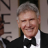 Harrison Ford, left, and Calista Flockhart at the 2012 Golden Globe Awards. Photo / AP