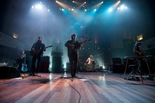 Fleet Foxes at the Auckland Town Hall. Photo / Dallas Pickering 