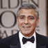 George Clooney, left, and Stacy Keibler arrive at the 2012 Golden Globe Awards. Photo / AP