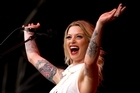 Gin Wigmore. Photo / Dean Purcell