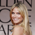 Heidi Klum arrives at the 2012 Golden Globe Awards. Photo / AP