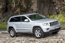 Jeep Grand Cherokee Laredo. Photo / Supplied