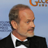 Actor Kelsey Grammer poses backstage with the award for Best Actor in a TV Series Drama for the series 'Boss'. Photo / AP