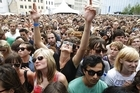 Fans enjoy the 2011 Laneway Festival. Photo / Steven McNicholl