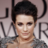 Textured up-dos were romantic and sophisticated: Lea Michele. Photo / AP