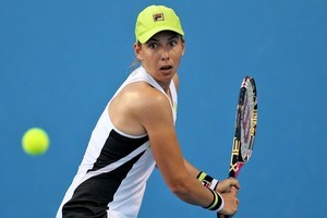 Marina Erakovic is through to the Australian Open's second round for just the second time in her career. Photo / Getty Images