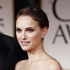 Benjamin Millepied, left, and Natalie Portman arrive at the 2012 Golden Globe Awards. Photo / AP
