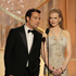 Presenters Clive Owen, left, and Nicole Kidman are shown during the 69th Annual Golden Globe Awards. Photo / AP