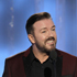 Host Ricky Gervais speaks during the 69th Annual Golden Globe Awards. Photo / AP