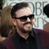 Ricky Gervais and Jane Fallon arrive at the 2012 Golden Globe Awards. Photo / AP