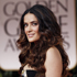 Soft natural waves added sex appeal and femininity: Salma Hayek. Photo / AP