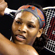 Serena Williams of the United States of America plays a backhand in her first round match against Tamira Paszek of Austria. Photo / Getty Images