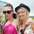 Trudy Kake, Phoebe Watts and Amie Banks at the Big Day Out 2012. Photo / Herald on Sunday