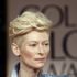 Tilda Swinton wore the quiff in a big way. Photo / AP