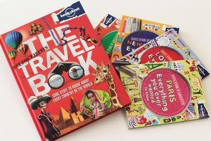 Lonely Planet has a new series of Not-For-Parents travel books out now. Photo / Richard Robinson