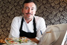 Simon Wright, executive chef and co-owner of The French Cafe. Photo / Richard Robinson